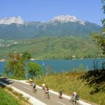 velo lac annecy