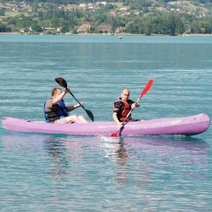 location canoe annecy