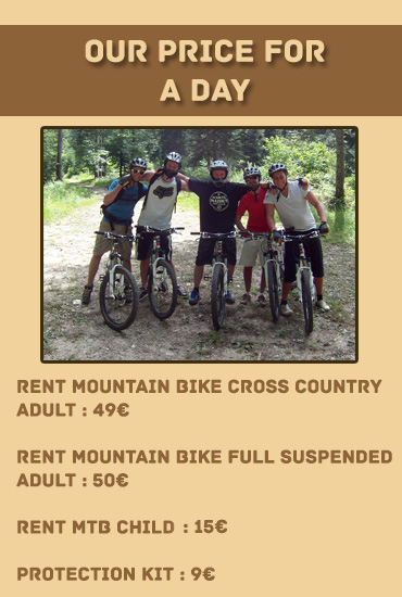 rent mountain bike Annecy