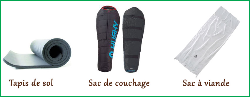 location sac de couchage