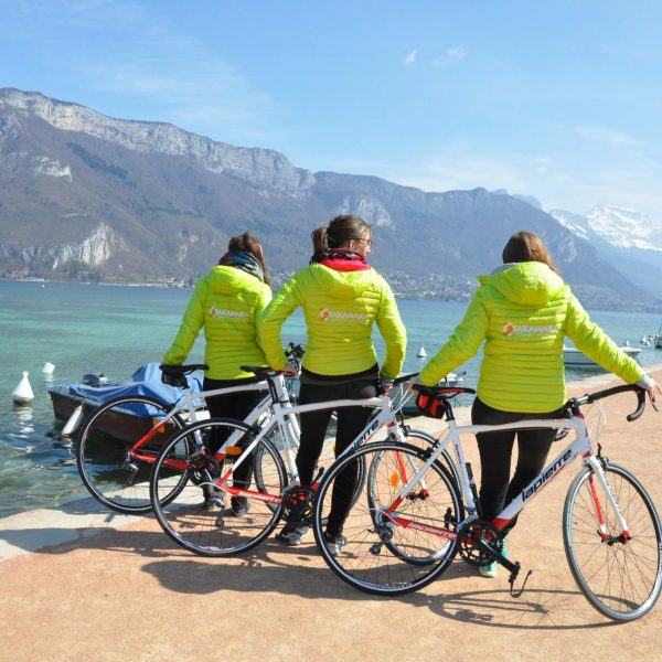 location vélo route annecy